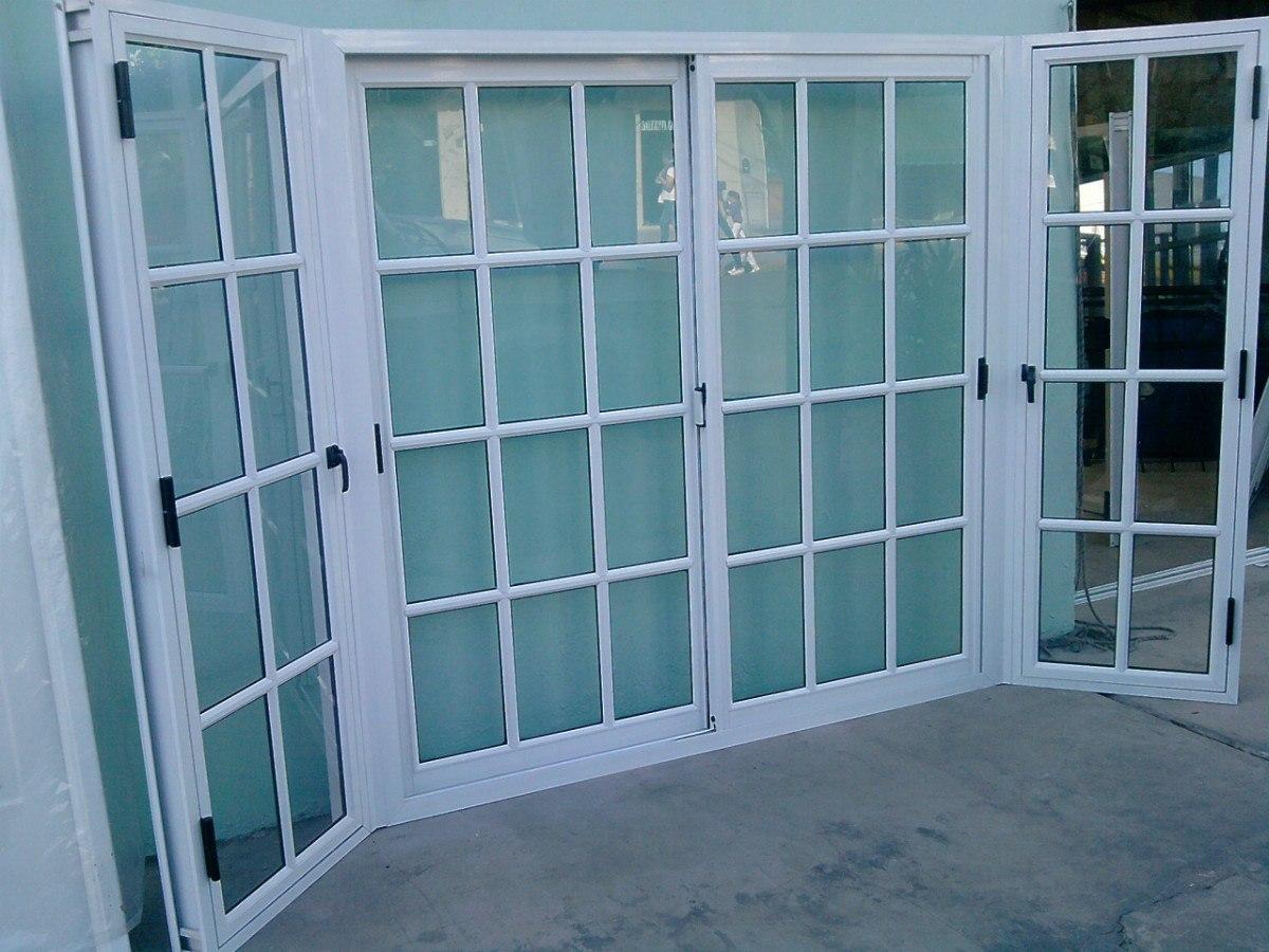 Ventanas y puertas de aluminio ventavid for Ventana aluminio 120x120